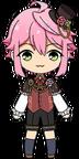 Tori Himemiya Manor's Master Outfit chibi