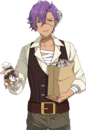 (Patchwork Frankenstein) Adonis Otogari Full Render Bloomed