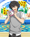 (Sea Breeze and Photos) Ritsu Sakuma Frameless Bloomed