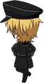 Kaoru Hakaze ES UNDEAD Uniform chibi back