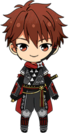 Chiaki Morisawa Scroll of the Elements chibi