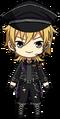 Kaoru Hakaze ES UNDEAD Uniform chibi