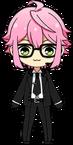 Tori Himemiya Agent chibi