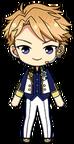 Arashi Narukami 4th Anniversary Outfit chibi