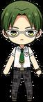 Keito Hasumi Summer Uniform (Wet) chibi