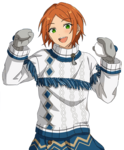 (Battle on the Snow) Yuta Aoi Full Render Bloomed