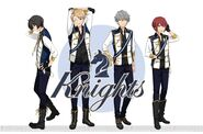 Knights Animate full body