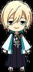 Eichi Tenshouin Shinsengumi Outfit chibi