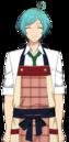 Kanata Shinkai Chocolat Fes Apron Dialogue Render