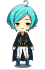 Kanata Shinkai Triumphal Return Uniform Chibi