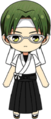 Keito Hasumi Archery Uniform (White Team) chibi