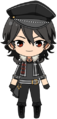 Rei Sakuma UNDEAD uniform chibi