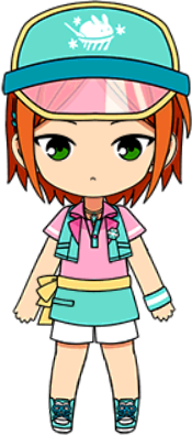 Yuta Aoi Ice Cream Shop chibi