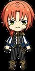 Leo Tsukinaga ES Knights Uniform chibi