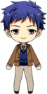 Yuzuru Fushimi Casual (Winter) chibi