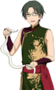 (Snake of the New Year) Keito Hasumi Full Render