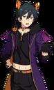 (Straightforward Black Cat) Hokuto Hidaka Full Render