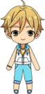Tomoya Mashiro Summer Lesson chibi