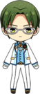 Keito Hasumi 3rd Anniversary Outfit chibi