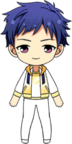 Yuzuru Fushimi Training Wear Flower Festival chibi