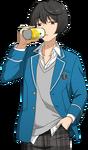 (Soda) Ritsu Sakuma Full Render Bloomed