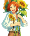 (You of Sunflowers) Hinata Aoi Full Render Bloomed