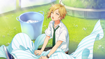 (With his Juniors) Nazuna Nito CG