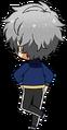 Izumi Sena ES Knights Practice chibi back