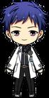 Yuzuru Fushimi Science Outfit chibi
