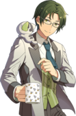 (Calm Analysis) Keito Hasumi Full Render Bloomed