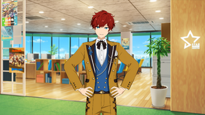 Hiiro Amagi Star-Colored Anniversary Suit Outfit