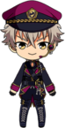 Koga Oogami Easter Outfit chibi