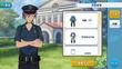 Adonis Otogari Police Uniform Outfit