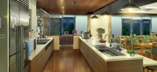 Seisou Hall Kitchen (Night - Bright) Full