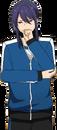 Souma Kanzaki PE Winter Dialogue Render