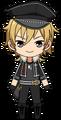 Kaoru Hakaze UNDEAD uniform chibi