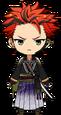 Kuro Kiryu Scroll of the Elements chibi