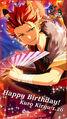 Happy Birthday Kuro Kiryu Wallpaper