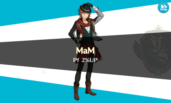 MaM 2% Up