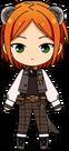 Yuta Aoi Forest Ferret Outfit chibi
