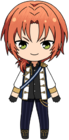 Leo Tsukinaga knights uniform chibi