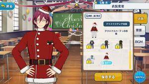 Ibara Saegusa 2018 Christmas Santa Outfit