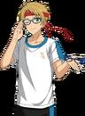 (Glasses Prediction) Makoto Yuuki Full Render Bloomed