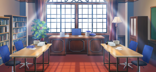 Yumenosaki Academy New Student Council Office Full