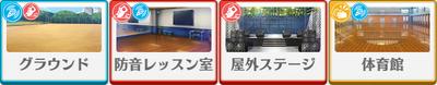 Kuro Kiryu Birthday Course locations
