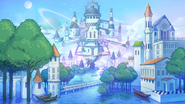 Leo's Kingdom - Castle Town (Enstars Country) Background