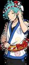 (Goldfish and Fireworks) Kanata Shinkai Full Render