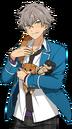 (Puppy Protector) Koga Oogami Full Render Bloomed
