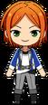 Hinata Aoi Academy Idol Uniform chibi