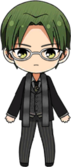 Keito Hasumi Workplace Survival Rules chibi